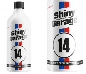 SHINY GARAGE BACK2BLACK POLYMER TIRE DRESSING - 500ml