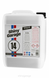 SHINY GARAGE PURE BLACK TIRE CLEANER - 5L