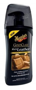 MEGUIAR'S GOLD CLASS RICH LEATHER CLEANER & CONDITIONER 400 ML