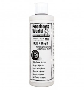 POORBOY'S WORLD BOLD N BRIGHT TIRE DRESSING 473 ML